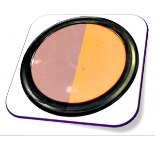Gel Cor - T7 (Brown - Neon Orange)
