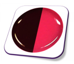 Gel Cor - T8 (Wine Red - Neon Pink)